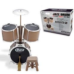 Hoogste Rang Uitrusting van de Trommel van 3 van het Stuk van het Speelgoed Instrumenten van het Drumstel de Muzikale (10168108)