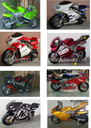 Los niños gas/gasolina Mini Moto 49cc Dirt Bike para los niños mini motos chopper
