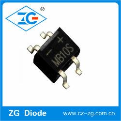 1000V 0.5/0.8A MB2s-MB10s rectificador de ponte