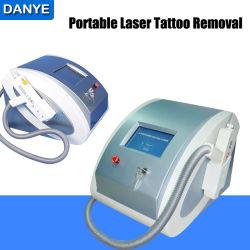 Portable Q switched Nd tatouage de laser YAG Dépose de la machine pour Body Tattoo, le sourcil, Lipline dépose