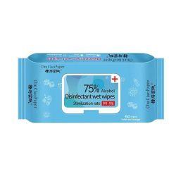 Prodotti del Cura-Bambino della pelle del bambino dei Wipes di disinfezione dell'alcool di 75%