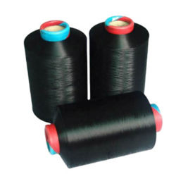 Ddb DTY textiles teñidos de negro de droga DTY teñidos de poliéster 150D/48f de hilados de Nim