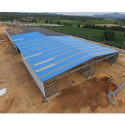 Workshop de baixo custo Galpão de Armazenagem de fabricação estruturais de aço de construção de depósito de material de construção com secção H Soldada