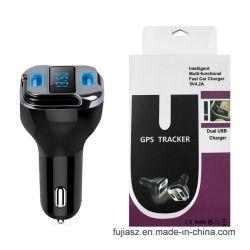 Mini telefono GPS senza fili che segue il caricatore dell'automobile con gli accessori mobili dell'adattatore della batteria