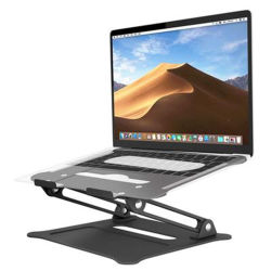 Alliage d'aluminium pliable portable support universel de base de refroidissement Socle pour ordinateur portable réglable