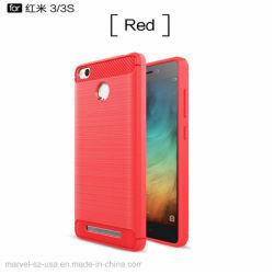 Weicher Silikon-Handy-Zubehör-Telefon-Kasten für Xiaomi Redmi Telefone