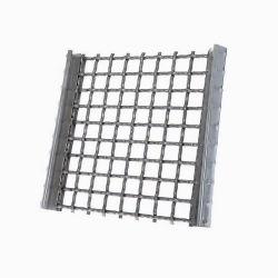 Камень подавляющие вибрирующие экран сетки, сцепленных обжат вибрирующие сетка по разминированию просеивания сетка