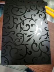 Grabado de hojas de HPL Formica, Panel de laminados decorativos