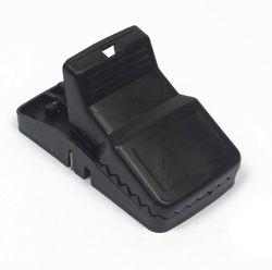 熱い販売の強大で実用的で強い再使用可能急なキャッチャーの齧歯動物制御マウストラップのABS黒のプラスチックねずみ取り器をマルチつかまえる