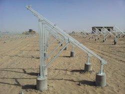 편평한 지붕 삼각형 태양 전지판 지원 태양 전지판 장착 브래킷