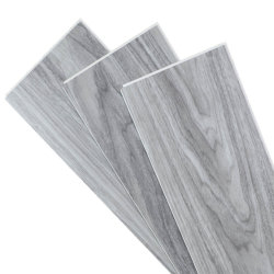 耐久性の木製の質Spc Lvt PVCクリックロックの商業浮遊ビニールの板の床タイル