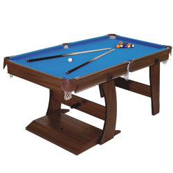 Billar Pool de alta calidad de la buena mesa plegable de madera maciza de venta directa del fabricante