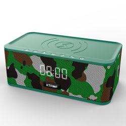 10W de draadloze Spreker van Bluetooth van de Lader, met Wekker, Tws, de Radio van de FM, las de Schijf van U en TF Kaart