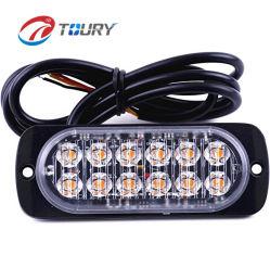 CREE Auto Light 18w Motor de la fábrica de luz estroboscópica LED ámbar