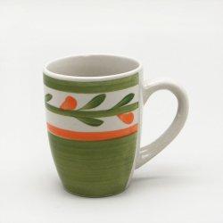Poignée de la vente d'usine grès 8/9/10 oz Mugs Coffee Cup pour Afrique du Sud