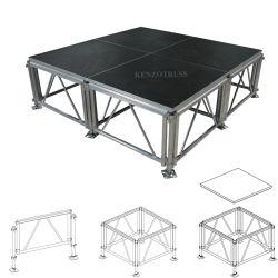 Verstelbare bewegende fase Aluminium Portable Stage voor prestaties