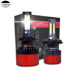 Новый S2 светодиодные фары H1, H3, H4, H7, H11 9005 9006 H10, H13 S2 початков Auto светодиод фары головного света лампы