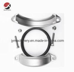 Aço inoxidável Microfusão OEM CF8/CF8m capas a braçadeira da mangueira de acoplamento/acoplamento/acoplamento de tubos/tubo rígido acoplamento flexível/Acoplamento da Mangueira de Ar/acoplamento comum