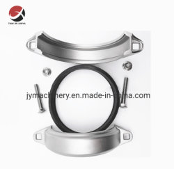La inversión de OEM de acero inoxidable fundición CF8/CF8m el acoplamiento de la abrazadera Ranurado/Bomba/acoplamiento el acoplamiento de tubos/rígidos acoplamiento flexible de acoplamiento y reducción de acoplamiento mixto/