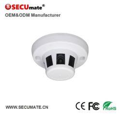 5MP Tvi Ahd Cvi Coaxial HD Detector de Fumaça de segurança tipo câmara CCTV