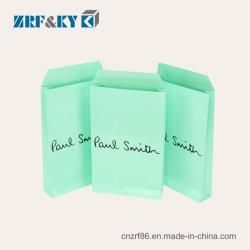 Comercio al por mayor recubierto de Arte/impresión/envases de papel/cartón kraft sobres Bolsa bolsas para ropa/camisas/Compras/Don
