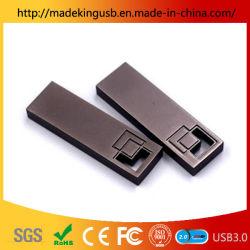 Nouveau mini-métal creux carré Stick USB/Lecteur Flash USB libre de gravure au laser du logo en usine