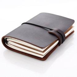 Libro diario de cuero de alta calidad