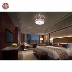 바다 전망 특대 룸을%s 가진 단단한 나무 호텔 침실 가구