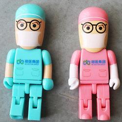 Les articles promotionnels pour les médecins Médecin Infirmière lecteur Flash USB Pen Drive médical 4GB 8Go à 16 Go