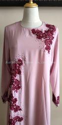 Nuevo diseño de vestido musulmán Abaya