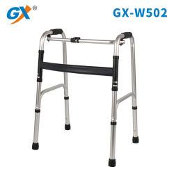 Ayudas para caminar de aluminio con Marco Foladable (GX-W502)