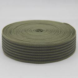 40mm 100 % polyester tissé Jacquard antiglisse ruban élastique/sangle