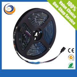 メートル5meter 1ロールDC12V /24V LED適用範囲が広いストリップごとのBalck PCB 60LED/120LEDs