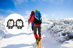 Auftreten-neuer Entwurfs-deckt Antischienen-Schnee-Schuh Eis-Bügelen ab