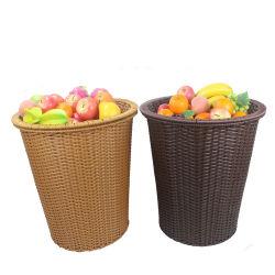 Verhoog het Fruit van het Riet en de Plantaardige Mand van de Vertoning van de Supermarkt van de Opslag