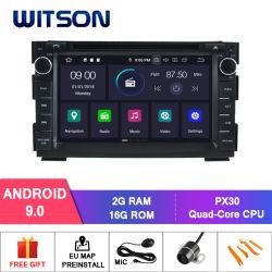 Processeurs quatre coeurs Witson Android 9.0 DVD de voiture GPS pour Venga KIA CEED/écran Capactive 1024*600