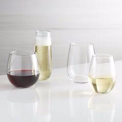 Fabricant grossiste Stemless populaire 9oz cuvette en verre de vin de la Verrerie