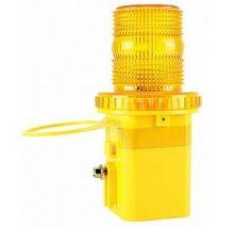 Straßensicherheitswarnung Barrikade LED solarbetriebenes Blinklicht