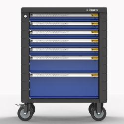Kinboxの自動車修理のための経済的な7つの引出しの産業ツールの収納キャビネット