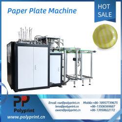 Articoli per la tavola biodegradabili del cassetto del piatto del piatto di carta che fanno macchina