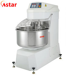 ماكينة صناعية تجارية كعكة الكعكة ماكينة الكنادر عجينة حلزونية كوكبية خلاط بسرعة عالية مزدوجة لخلط العجين