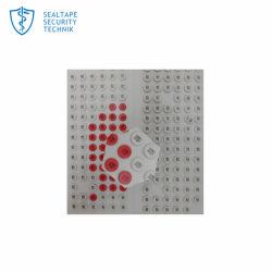 Etiqueta branca com mudança de cor fica vermelho quando o indicador de dano por água adesivos sensíveis a segurança para Telefones Móveis