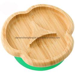 O conjunto inclui Taça de bambu e colher de bambu com ponta de mordedores de Silicone macio