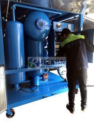 Duplo sistema de purificação do óleo do transformador de vácuo para limpeza de óleo de alta tensão