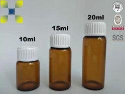استخدام زجاجة زجاج سائل شفهي لمنتجات الرعاية الصحية