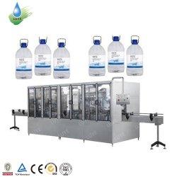 De volledig Automatische 3L 5L 7L 10L Vloeibare Zuivere Minerale het Drinken het Vullen van de Was van het Sodawater Blazende Spoelende Bottelende het Afdekken Verzegelende Machine van de Verpakking van de Etikettering