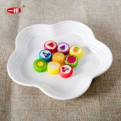 Una buena calidad APPCC Precios baratos personalizados chino fruta redonda Patrón de los animales de juguete a granel en rodajas, hechos a mano Caramelos Proveedor