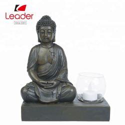 販売の樹脂の仏の全彫像、中国の仏の蝋燭ホールダーおよび仏の彫像のモデル