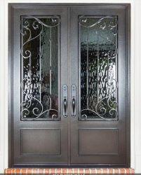 Heiße Verkaufs-bearbeitetes Eisen-Eintrag-Tür mit hoher Standard-Sicherheit