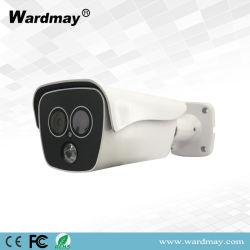 2019 de Nieuwe Infrarode Camera van kabeltelevisie IP van de Veiligheid van het Netwerk van de Thermische Weergave 2.0MP